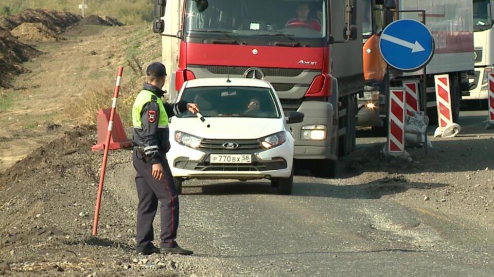 Управлявший бензовозом наркоман пытался скрыться от погони ДПС в Пензе