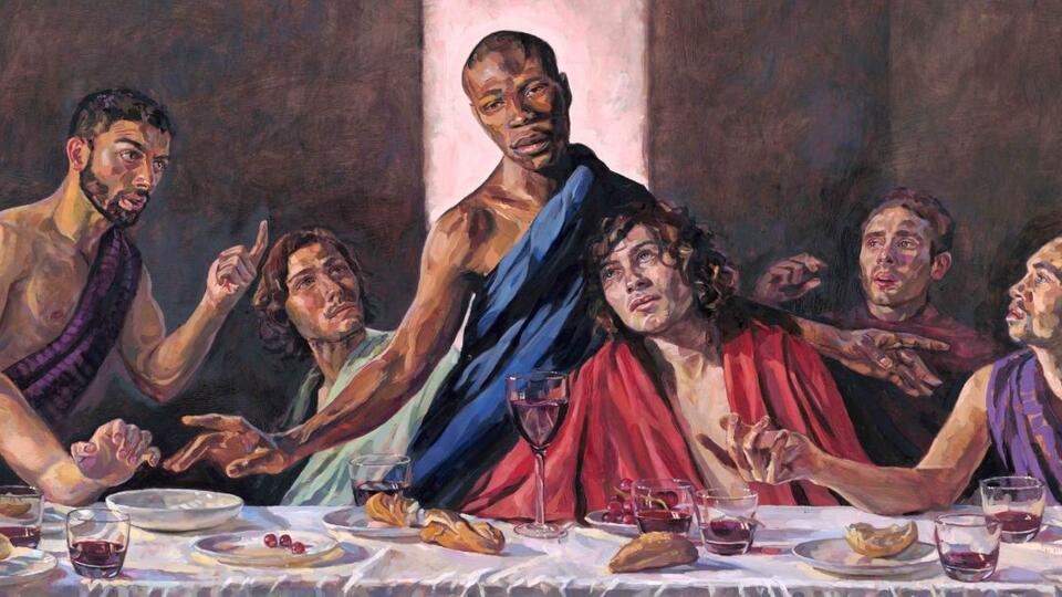 """""""Тайная вечеря"""" с чернокожим Христом появилась в британском соборе"""