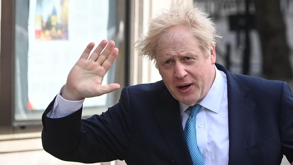 Расследование затрат Джонсона начали в Британии