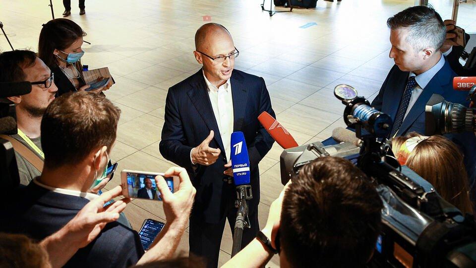 """Высокий интерес: Кириенко подвел итоги марафона """"Новое знание"""""""