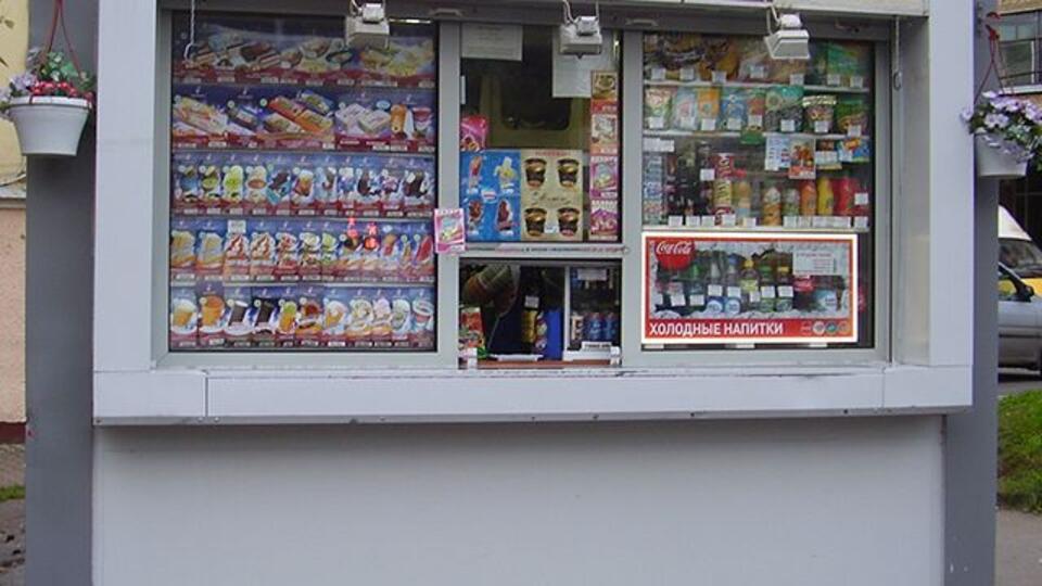 Из парка в Подольске ночью украли почти 300 пачек мороженого