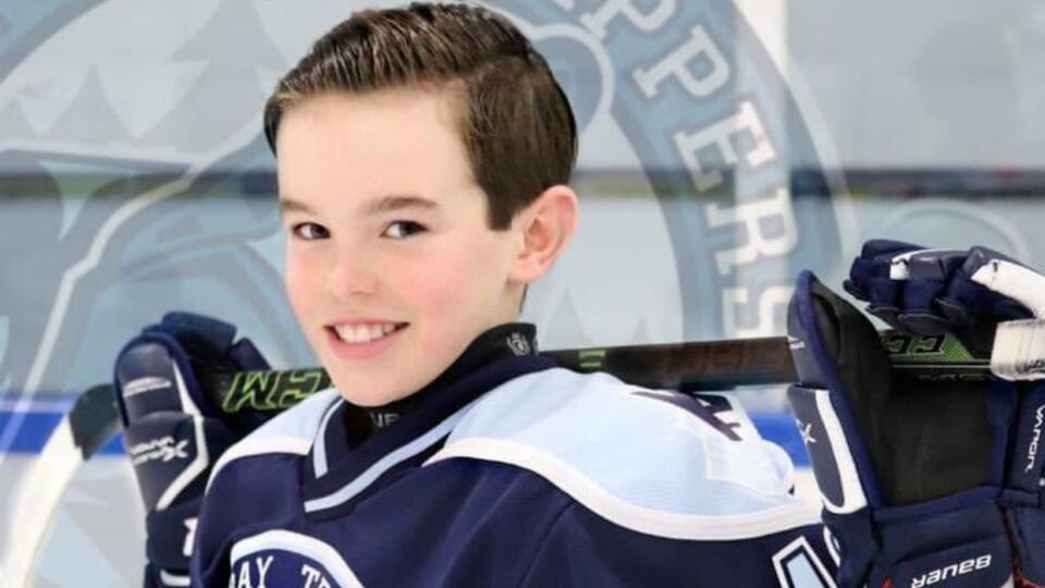 Умер 13-летний канадский хоккеист, которого поддерживали звезды НХЛ