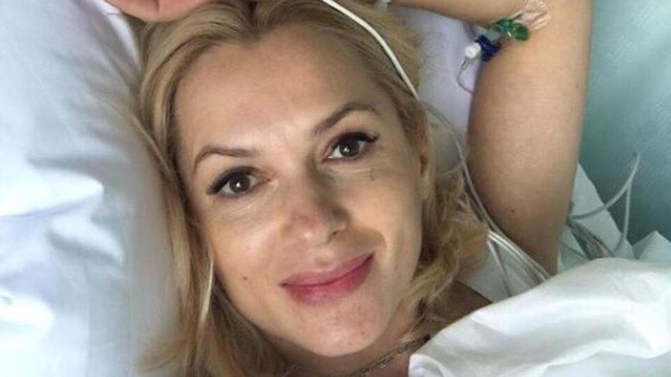 Актриса Мария Порошина опубликовала первое фото после рождения пятого ребенка