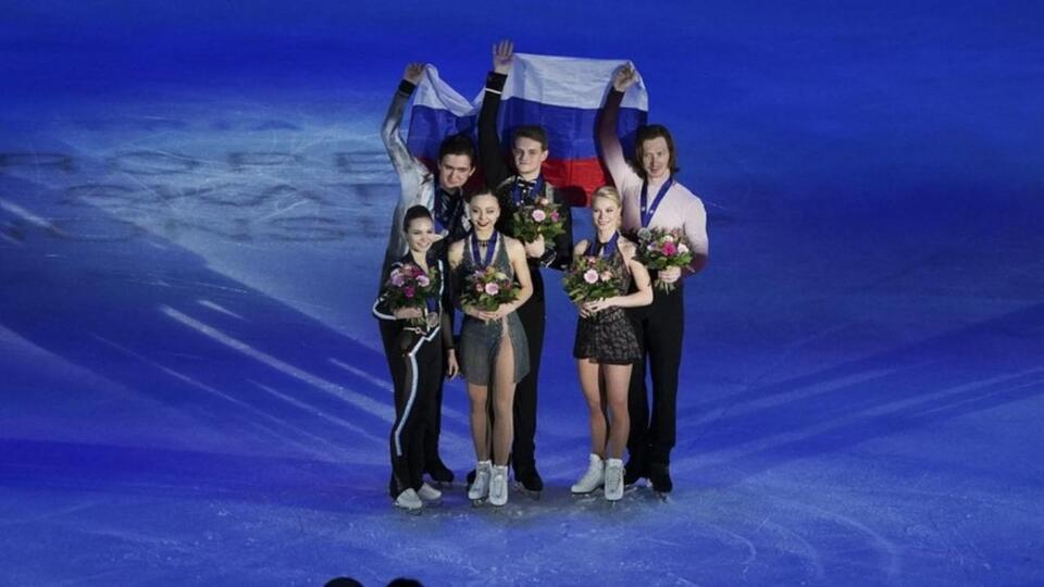 Российские фигуристы повторили медальный рекорд на чемпионате Европы