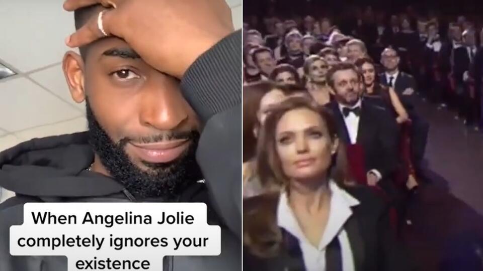 Проигнорировавшая рэпера Анджелина Джоли рассмешила Сеть