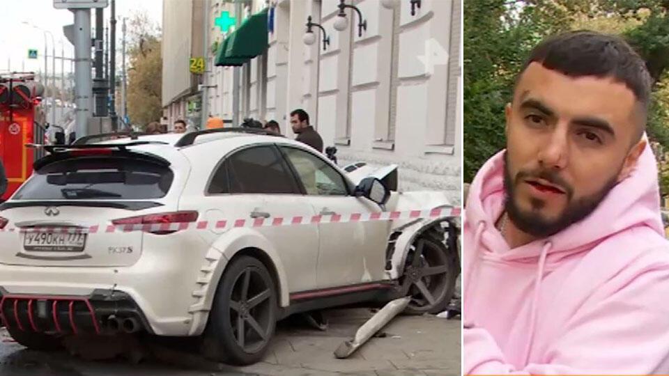 Задержанный в Москве рэпер Эллей трижды за год попадал в ДТП