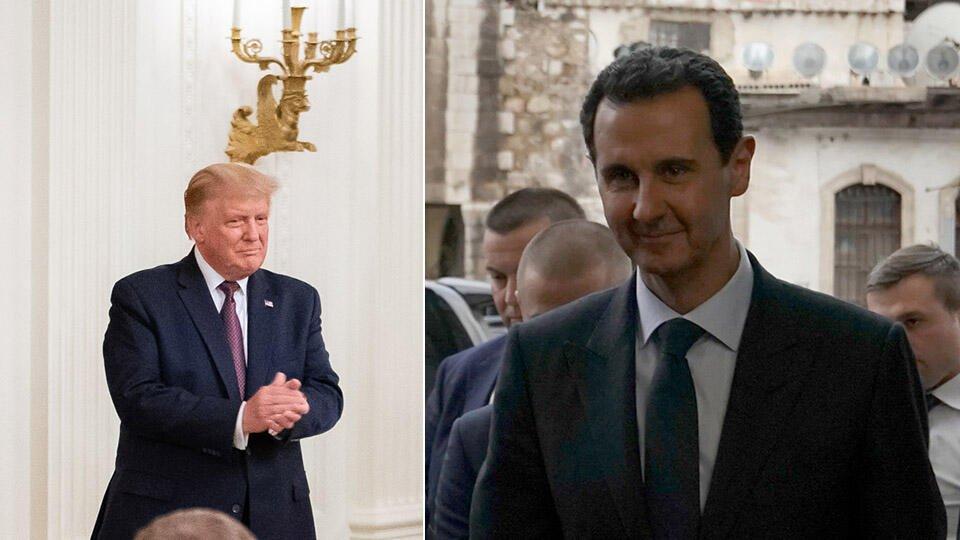 Трамп рассказал о планах по убийству главы Сирии Башара Асада