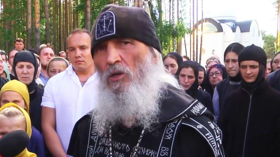 Следователи приехали в монастырь к опальному схимонаху Сергию