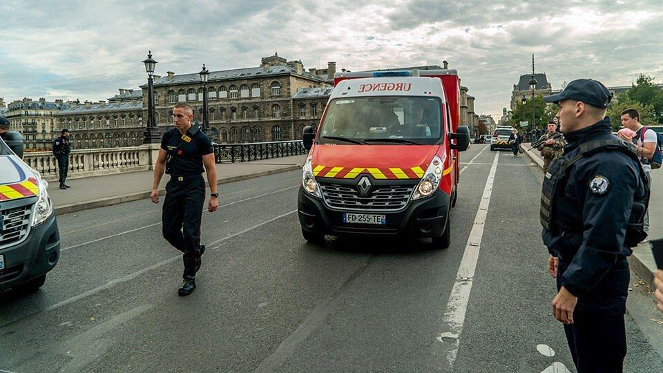 В Париже прогремел мощный взрыв