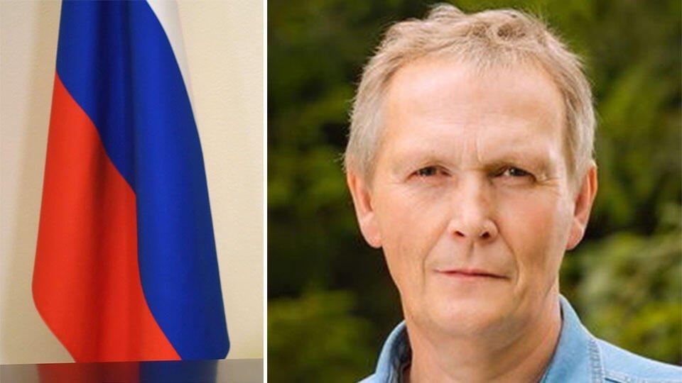 Подозреваемый в убийстве жены депутат убегал, завернувшись в флаг РФ