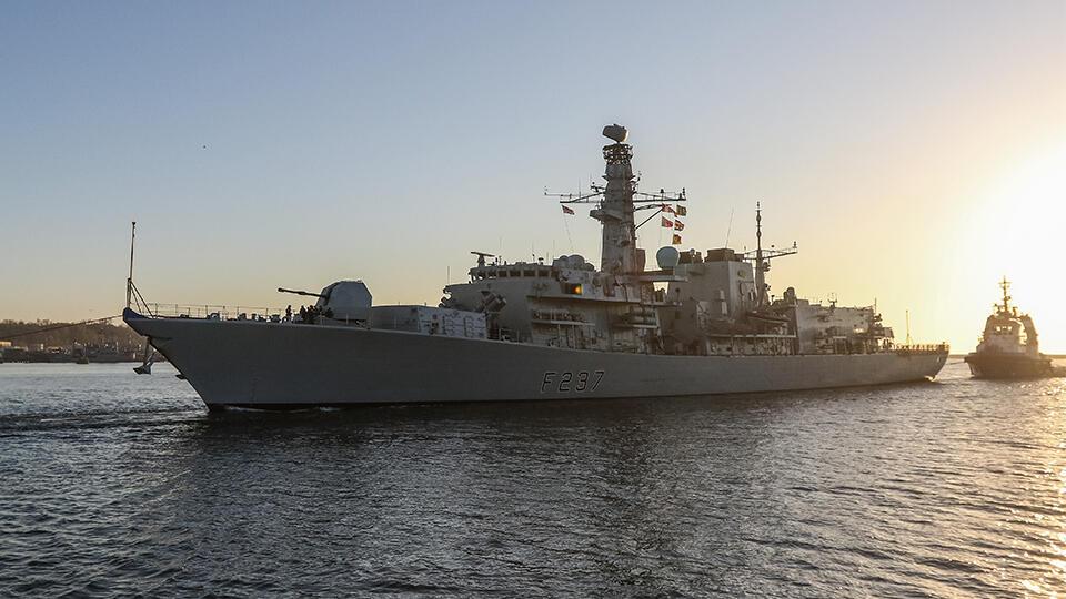 В МИД РФ прокомментировали заход британских кораблей в Черное море