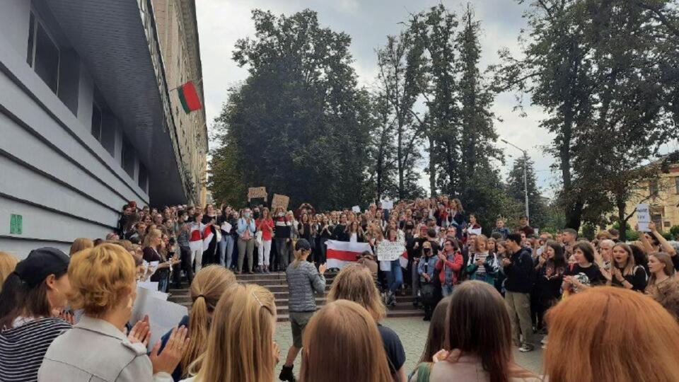 91 человек задержан на протестах в Белоруссии в субботу