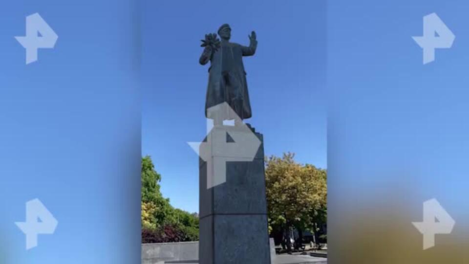 Восстановленный в виртуальной Праге памятник Коневу засняли на видео