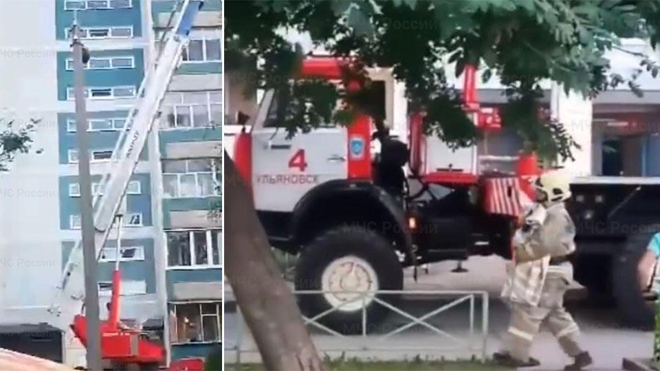 Влез на окно: пожарные спасли малыша, который был один с мертвой мамой