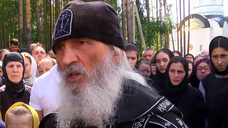 Опальный схимонах Сергий устроил акцию протеста в Екатеринбурге