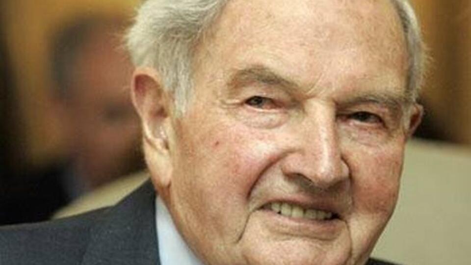 Старейший в мире миллиардер Дэвид Рокфеллер умер во сне
