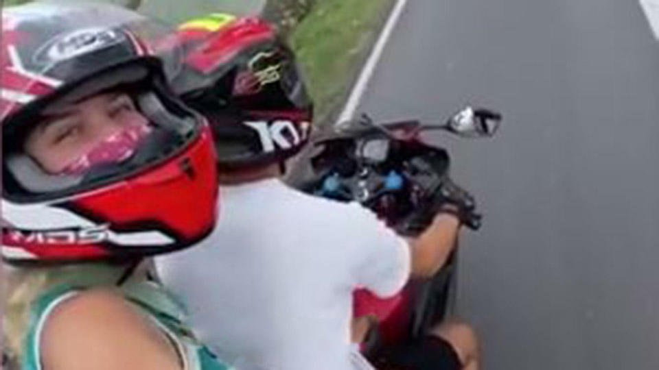 Видео поездки блогера Тропицель за два часа до смертельной аварии