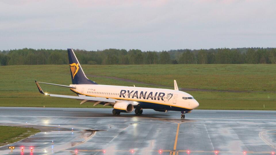 """Авиакомпания Ryanair назвала """"угоном"""" инцидент с самолетом в Минске"""