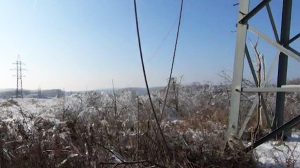 Ликвидация последствий ледяного дождя в Приморье займет год