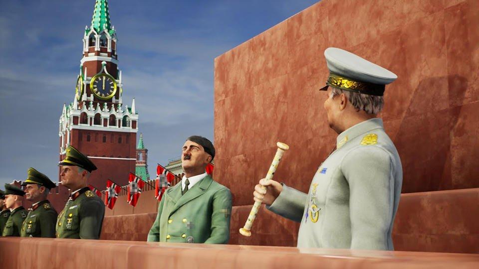 Укронацисты довели Гитлера до Красной площади