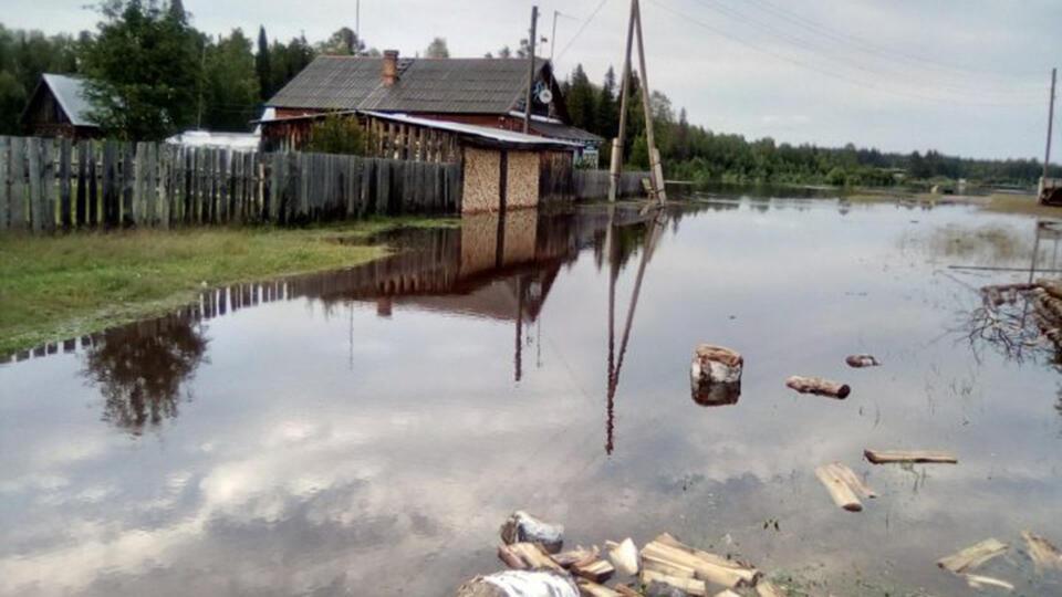 На севере России усиливаются паводки