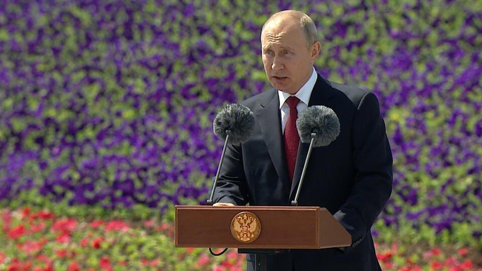 Поздравление президента героев