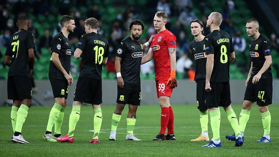 Краснодар проиграл загребскому Динамо в Лиге Европы