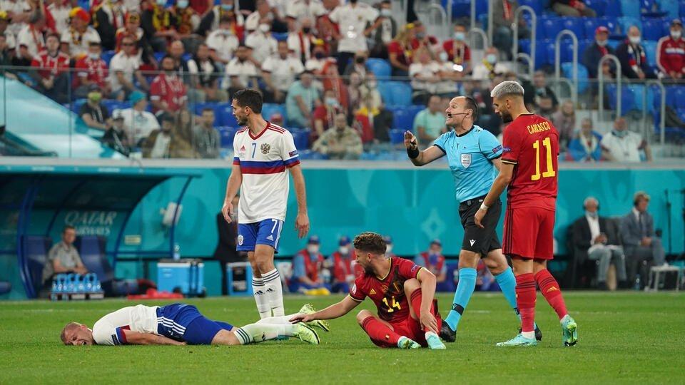 Еврофиаско: сборная России была разгромлена Бельгией на старте ЧЕ