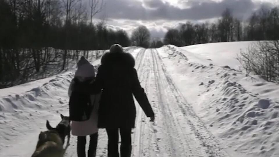 Автобус отменили: как школьница ходит на занятия через лес с волками