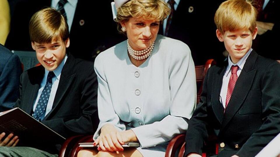 Платье принцессы Дианы восстановит отношения принцев Гарри и Уильяма
