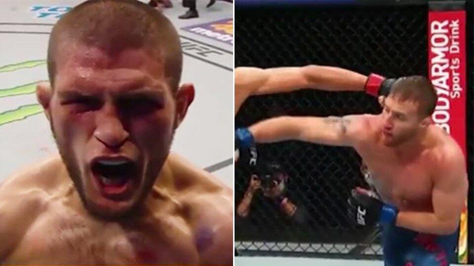 Хабиб против Гэтжи: сутки до супербоя за титул чемпиона UFC