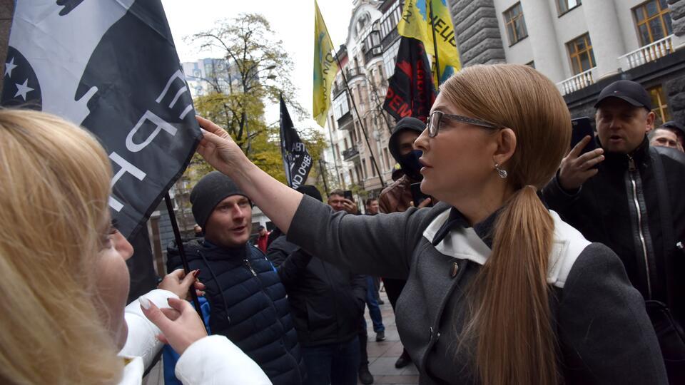 """Тимошенко заявила о долгах украинцев из-за """"тарифного геноцида"""""""