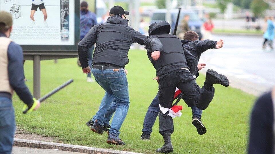 МВД Белоруссии отчиталось о 633 задержанных демонстрантах