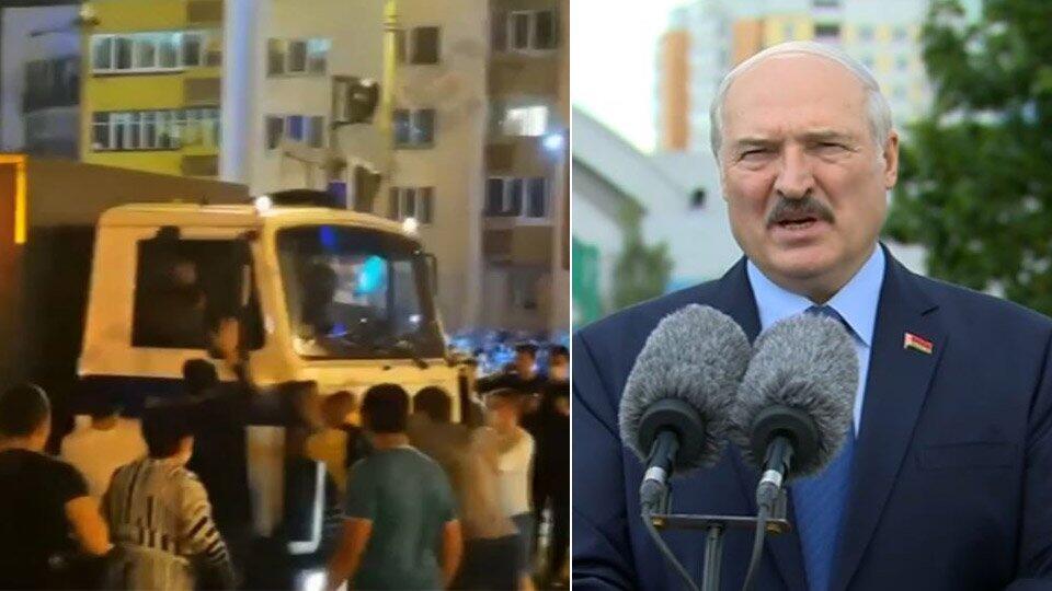Лукашенко заявил, что протесты в Белоруссии подавляли очень мягко