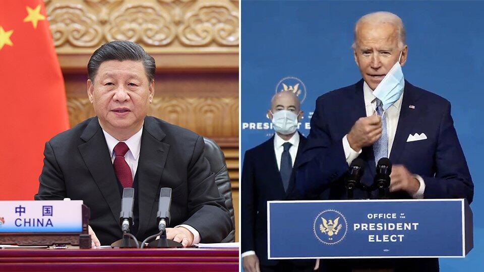 Си Цзиньпин поздравил Байдена с избранием на пост президента США