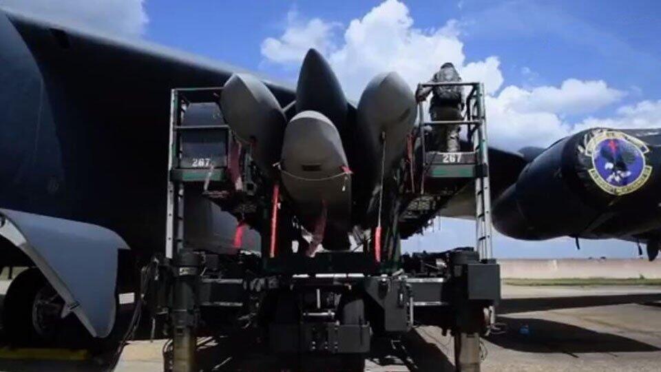 Подготовку к бою ядерных ракет США засняли на видео